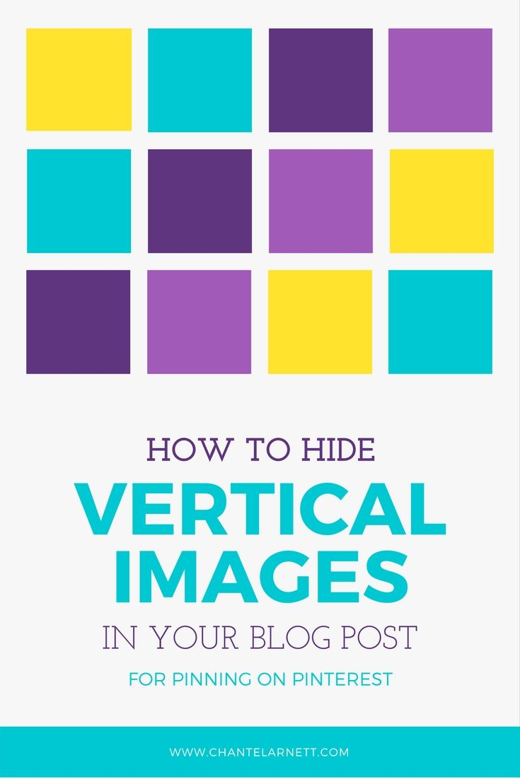 How to Hide Vertical Images in Your Blog Posts