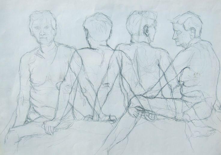 Life drawing study circa 2004