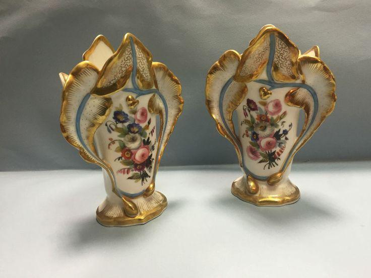 OLD ANTICHI Vasi Vecchia Parigi Del XIX SECOLO