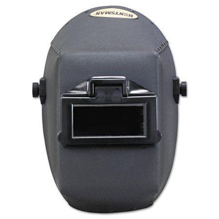 Jackson Safety* Huntsman Fiber Shell Welding Helmet, 4 1/4 inch x 2 inch, Black