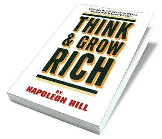 Think and Grow Rich is a 1937 motivational personal development and self-help book written by Napoleon Hill - a must read at some point in your life ... earlier rather than later!
