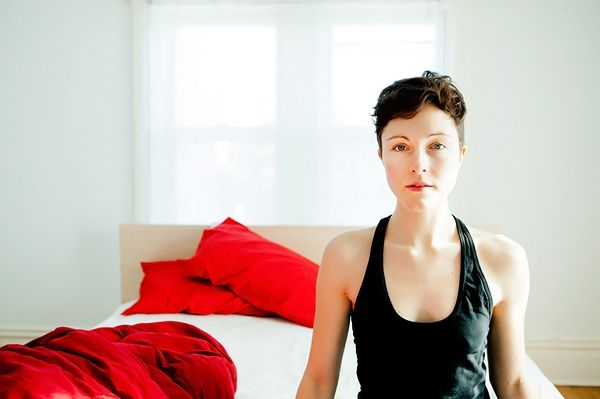 have you heard the Minneapolis-based band Polica yet? photo is of Channy Leaneagh, Polica's frontwoman. check out their debut album Give You the Ghost.