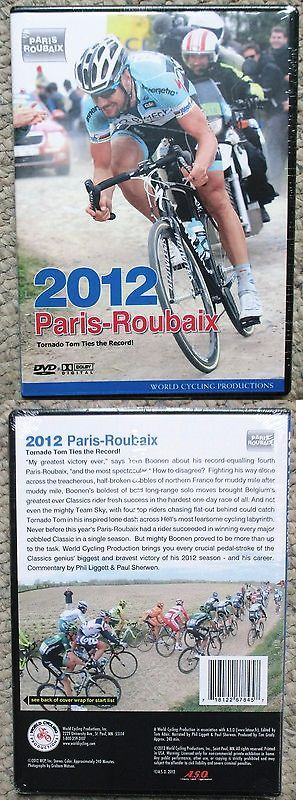 Books and Video 62130: 2012 Paris - Roubaix World Cycling Productions 2 Dvd Set Tom Boonen New Sealed -> BUY IT NOW ONLY: $39.95 on eBay!