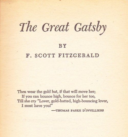 One of my all time faves:) Love me some Fitzgerald