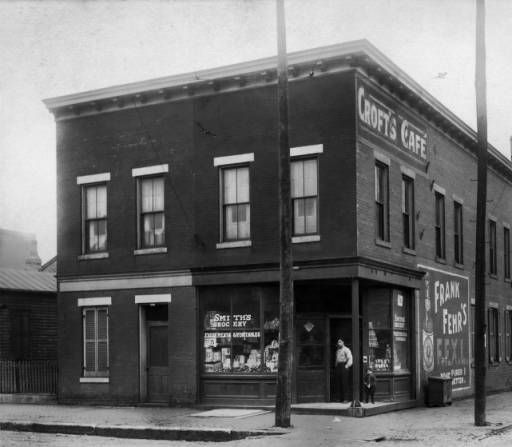 South East corner 15th. & Green, 1428-32 West Green Street. :: Louisville Storefronts Album