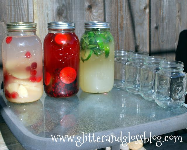 easy, delicious flavored waters