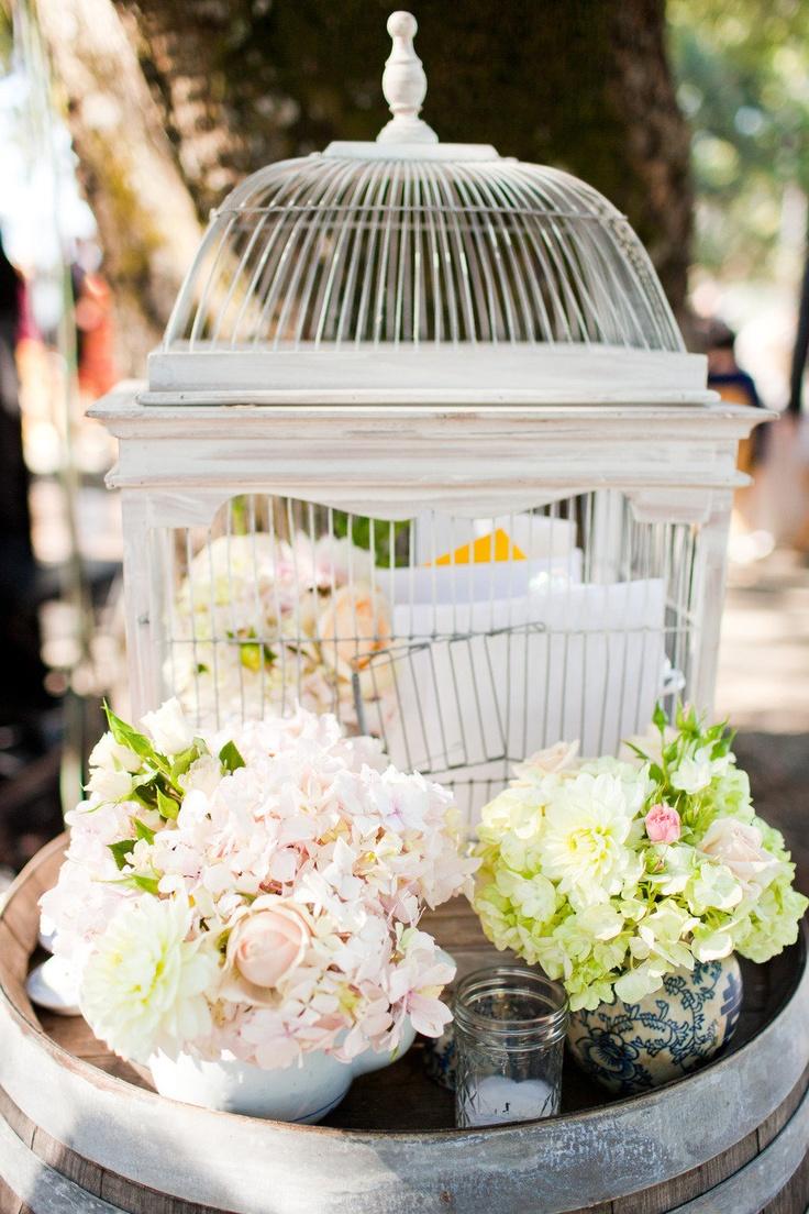 Kunde Family Estate Wedding By Alicia K Designs Birdcage Card Holderswedding
