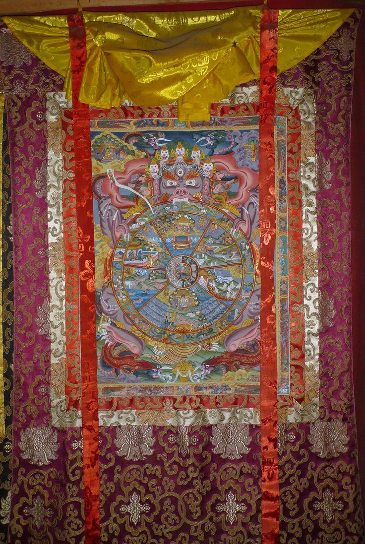 wheel of life in febric