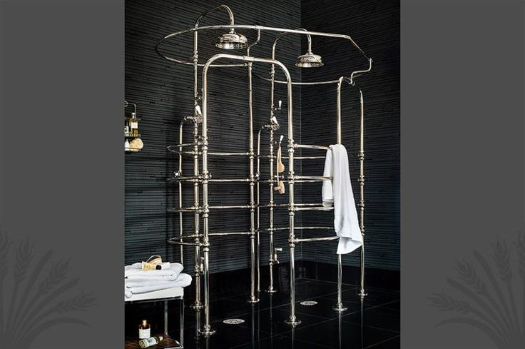 Double rib cage shower from Catchpole and Rye. Fantastic!