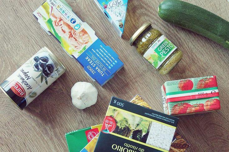 Logistyka zdrowego odżywiania - domowe zapasy + gotowanie obiadów