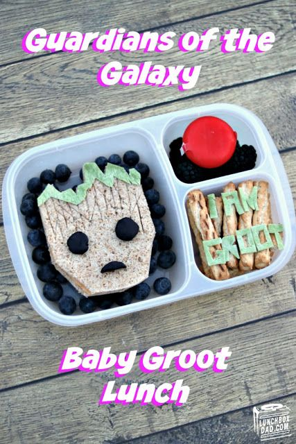 How to make a Baby Groot Guardians of the Galaxy lunch!