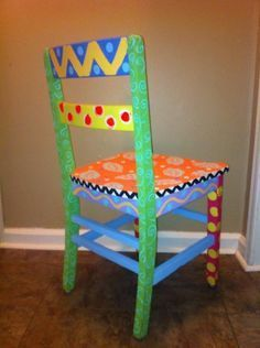 Painted Wooden Chairs Ideas