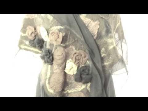 introduzione alla lavorazione del nunofeltro 2 - YouTube
