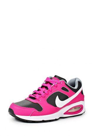Кроссовки от Nike сочетают в себе яркость и стильный дизайн известного спортивного бренда. Материал верха выполнен из комбинации натуральной и искусственной кожи с текстилем. Детали: плотная шнуровка, легкая и гибкая подошва, технология Air Max. http://j.mp/1ryE4dx