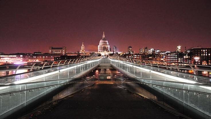 Millennium Bridge #beentheredonethatPhotos, Bridgealbert Lee, Bridges Albert Lee, London, Bridges Beentheredonethat, Millennium Bridges, Millenium Bridges, The Bridges, Architecture