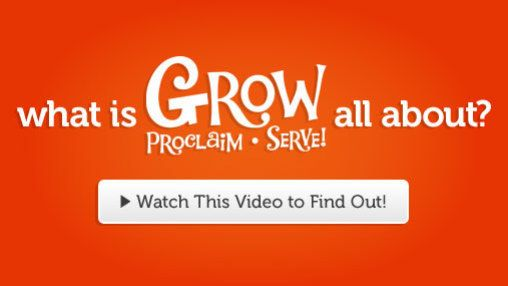 """GROW · PROCLAIM · SERVE is the new version of """"One Room Sunday School"""" and """"Live BIG."""" Quarterly curriculum for babies thru 7 & up focused on bible stories."""