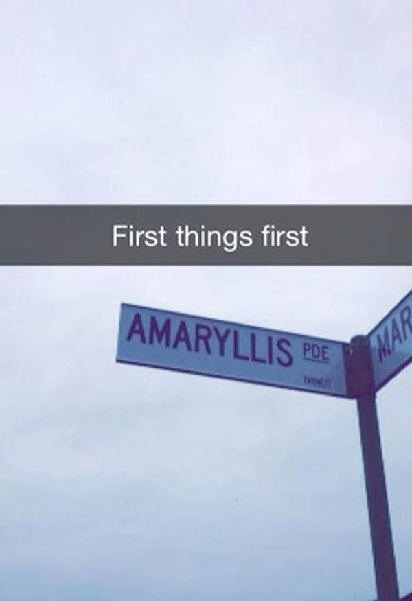 """This super """"fancy"""" Snapchat. 