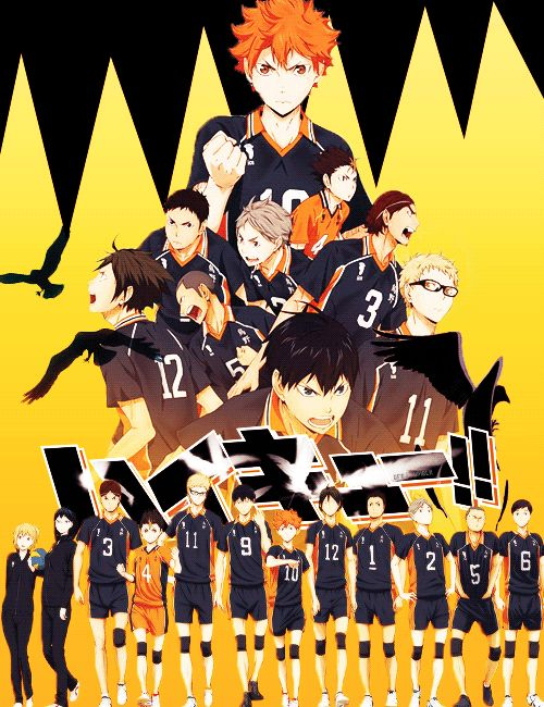 "grayfullbster: """"Haikyuu!! S2 