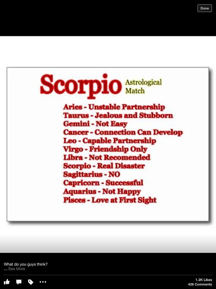 Scorpio compatibility | S C O R P I O♡ | Pinterest