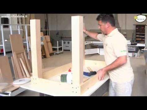 Come costruire un tavolo in legno parte 2 YouTube