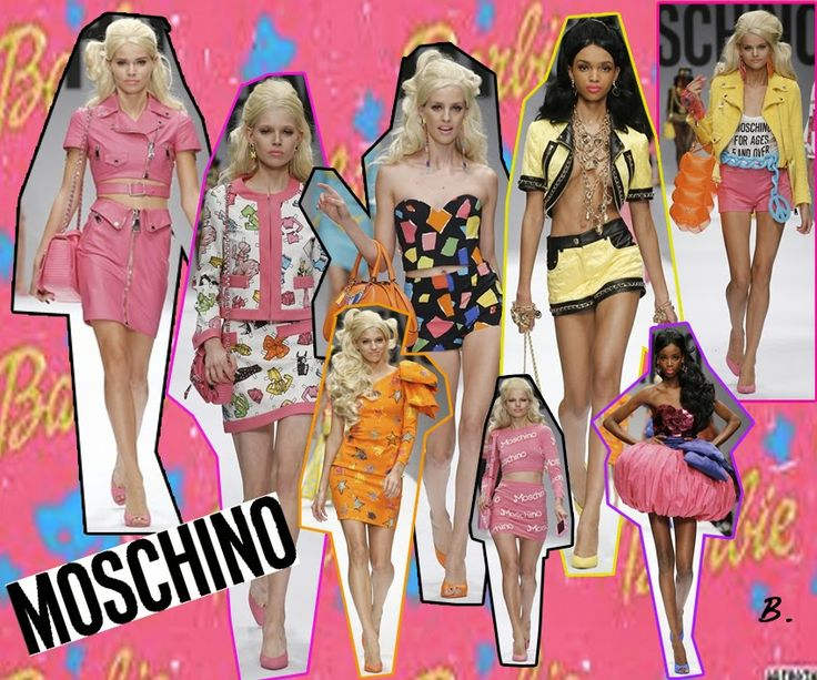 Barbie Girl-Moschino S/S15 Bee Appel: Best Picks Of Fashion Week S/S 2015