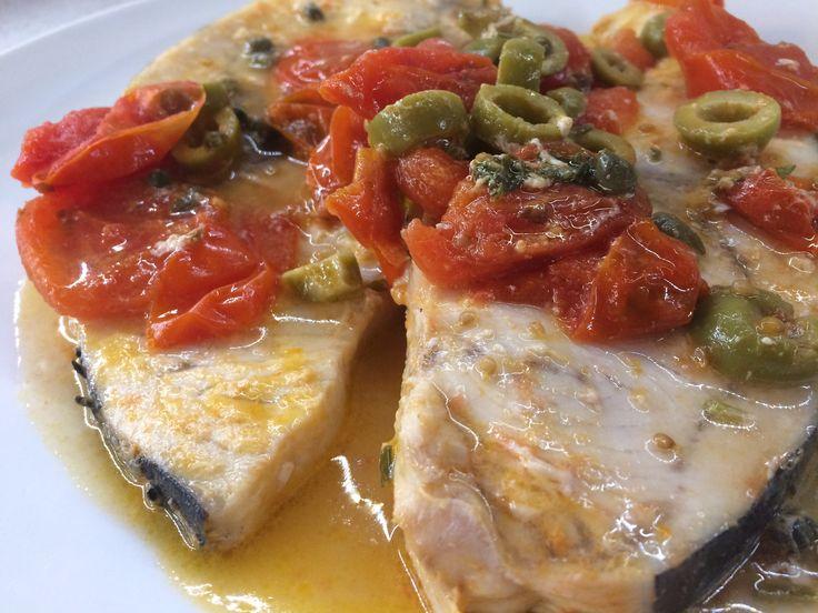 Questo Pesce spada alla siciliana è una bontà! Sugoso, morbido e sano!