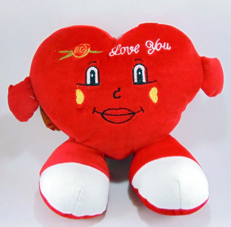 Valentines Soft toys and Love cushions from Winni.in