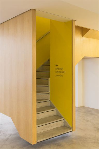 Galeria Zipper - Art Gallery in São Paulo - São Paulo, Brazil - 2010 - Marcelo Rosenbaum #stair #architecture #design #art #gallery
