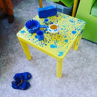 2e KLEUTERKLAS JUF INEKE : Eefje Donkerblauw *** over kleurtjes***