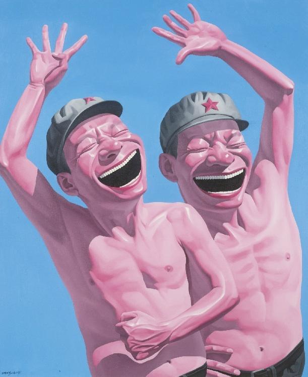 Chinese contemporary art Yue Minjun