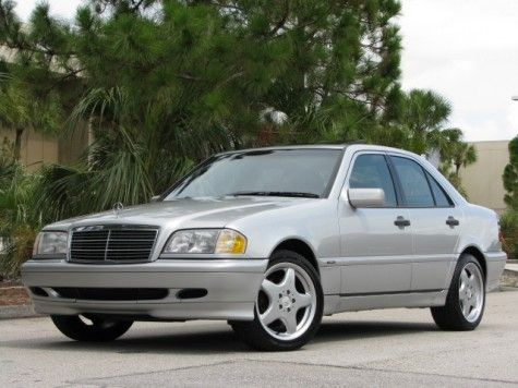 one of my favorite cars: 2000 Mercedes Benz C280 Sport. mine was a Special edition with two tone leather seating.  Loved that car.....gave it to my son for his 16th birthday and a jealous girl ran in to him in the high school parking lot, totalling it.  I should have gotten him an F150 truck.