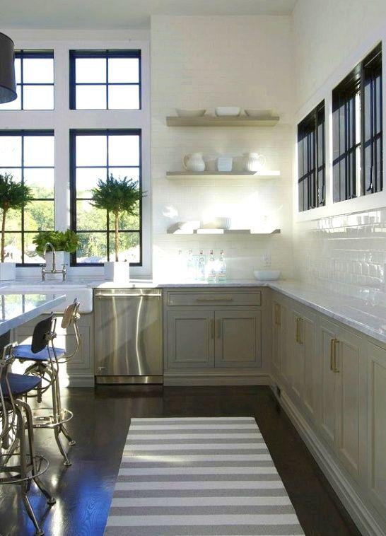 Kitchen Design Ideas The Mirror Will Reflect Light Off The Window