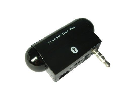 Nolan TxPlus Unversal Bluetooth Wireless Stereo Music and Voice Talk Transmitter Adapter with 3.5 mm Audio Plug, Wireless Voice Talk, USB Audio Dongle 3 in 1 for iPod, iPhone, iPad, Zune, Zen, Sony Walkman, Sansa , Mp3 Players, Notebook, Nexus, Surface, Tablet, PSP, Nintendo 3D, TV, Car Stereo, Home Stereo, Blue Ray DVD, Skype, MSN, QQ without Cord Dangling Hassle by Nolan. $44.99. Nolan TxPlus Bluetooth Wireless Stereo Music audio Transmitter Gateway with 3.5 mm audi...