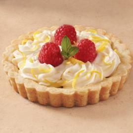 How to make Lemon Raspberry Tarts.