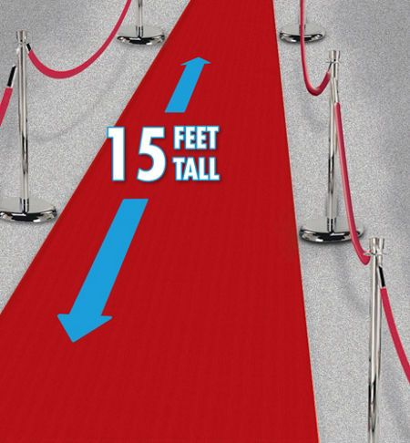 Red Carpets 15 feet for $6.99 or 40 feet for $20! Star Attraction Hollywood Party Supplies - Party City