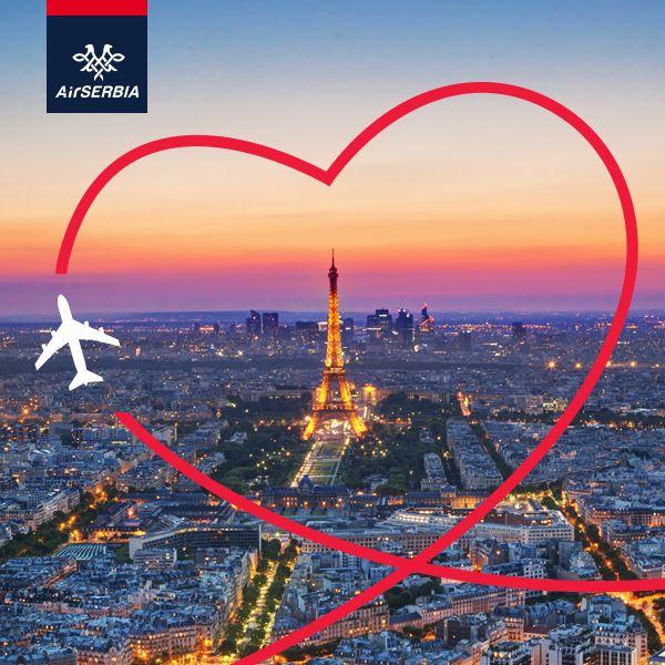 Air Serbia Happy Valentine !