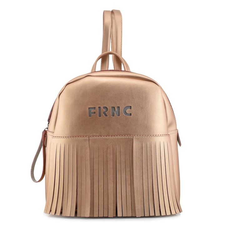 FRNC Rose gold backpack