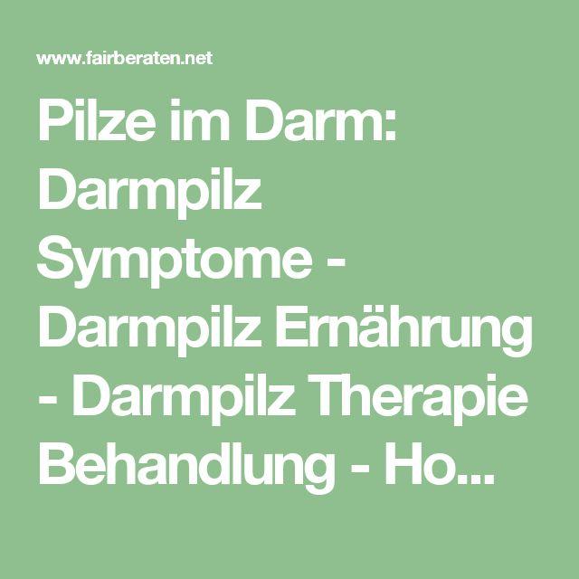 Pilze im Darm: Darmpilz Symptome - Darmpilz Ernährung - Darmpilz Therapie Behandlung - Homöopathie gegen Darmpilze - Magen Darm Pilz Mykose Candida Albicans Antibiotika - Antipilzdiät bei Kindern -  UGB-Gesundheitsberatung