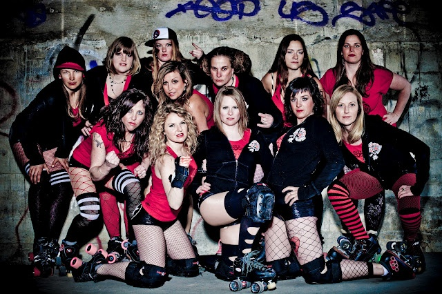 EAST KOOTENAY ROLLER DERBY LEAGUE: Avalanche City Roller Girls