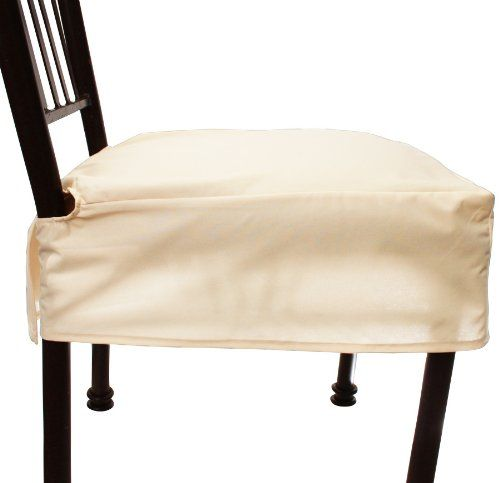 ViveVita Everyday Elegance Dining Chair Cover Simply Linen