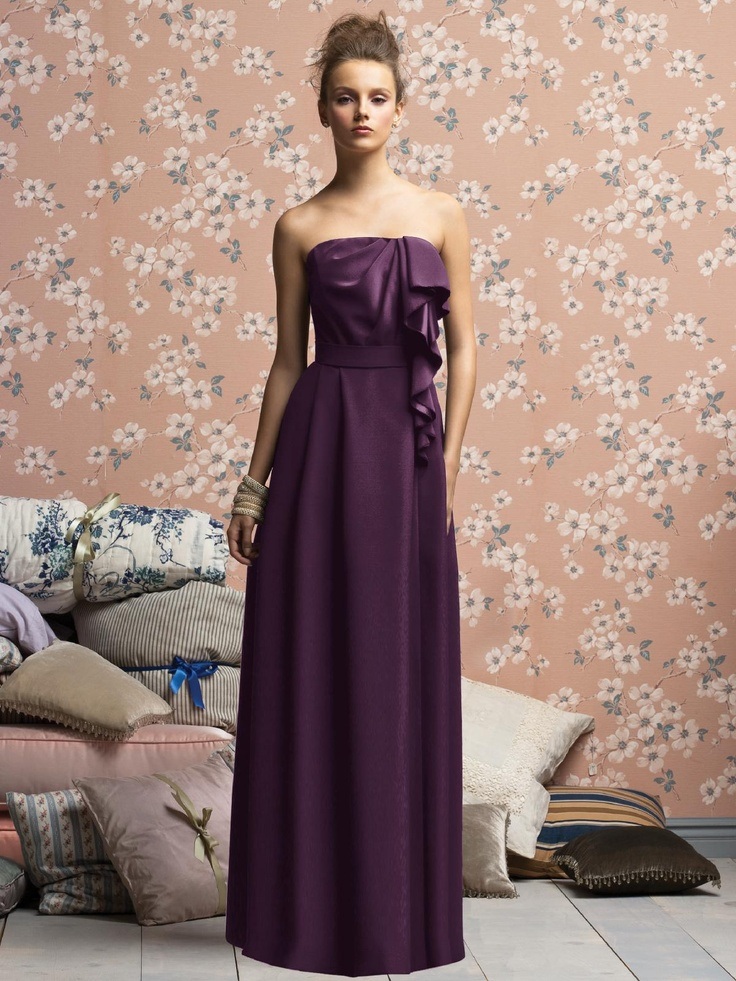 More Eggplant Color Dresses Our Wedding Day October 5 2013 Pinte