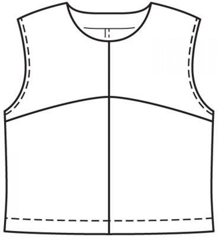 Bluzka: Burda. Sew łatwo i szybko 1/2012/1 / Burdastyle