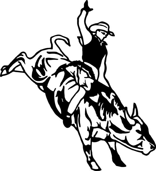 Raging Bull Coloring Pages