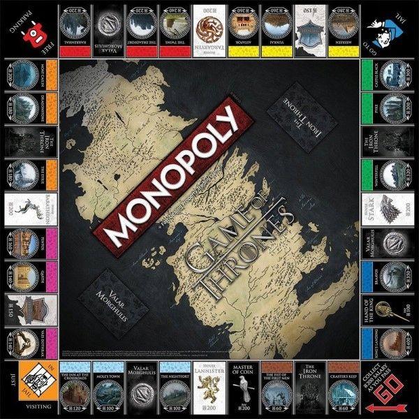 Gra Monopoly Gra O Tron Edycja Kolekcjonerska Monopoly Board Games Games