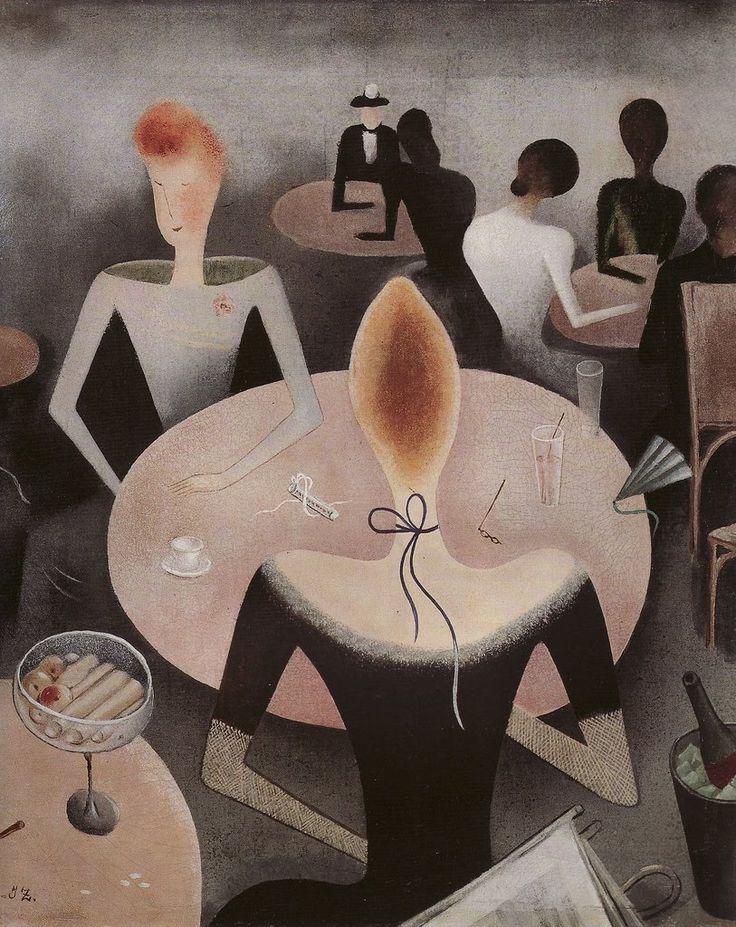 'Kavarna' by Jan Zrzavý (1890-1977)