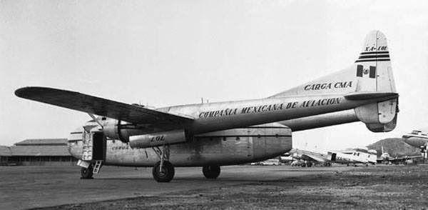 avion de carga fotografias historicas ciudad de mexico