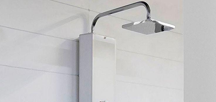Columnas de hidromasaje. Hoy te traemos, de la mano de nuestro amigo Enrique, un completo manual para la sustitución de una tradicional ducha por una columna de hidromasaje. https://www.bricoblog.eu/como-instalar-una-columna-de-hidromasaje/ #Bricolaje #Fontaneria #Baños