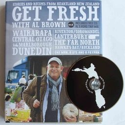 'Get Fresh with Al Brown': Book of stories and recipes from his heartland  NZ road-trip with a bonus CD of his favourite tunes for the road.