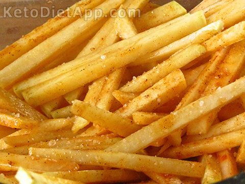 """Explore Our Latest PostsLow-carb """"French Fries"""""""
