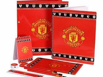 Man Utd Accessories  Manchester United FC Stationery Set 10 Pack MAN UTD STATIONARY SET 10 PK http://www.comparestoreprices.co.uk/football-kit/man-utd-accessories-manchester-united-fc-stationery-set-10-pack.asp